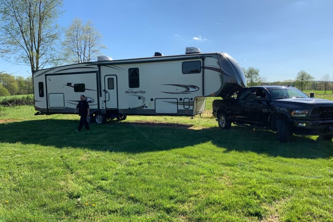 2017 Forest River Heritage Glen Lite available for rent in Nancy KY