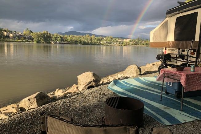 Edgewater Bar Campgrounds, Langley