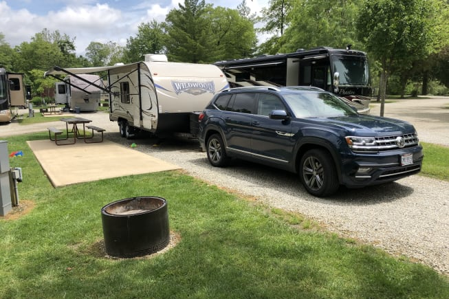 2018 Forest River Wildwood X-Lite available for rent in Kettering OH