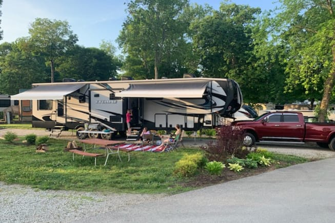 2017 Heartland Cyclone available for rent in West Alexandria OH