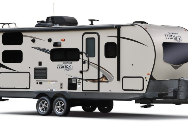 Sleek design looks good on a campsite as well as traveling down the highway.