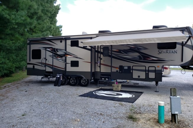 2015 Prime Time Spartan available for rent in Lizella GA