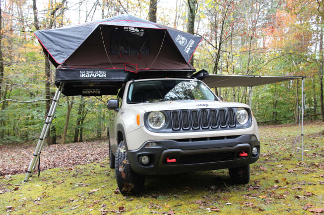 2017 Jeep Renegade available for rent in Asheville NC