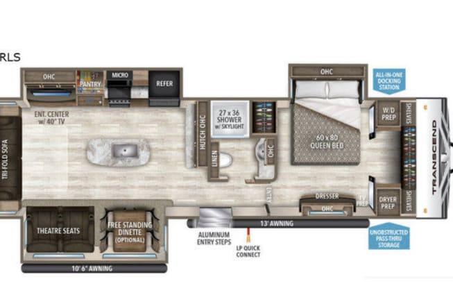 2019 Grand Design transcend available for rent in Birmingham AL