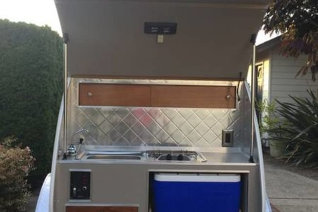 2008 Custom Teardrop Camper available for rent in Clackamas OR