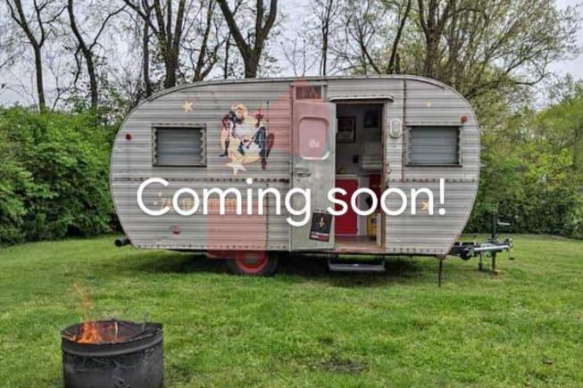 Vintage 1960 Custom Shasta Camper