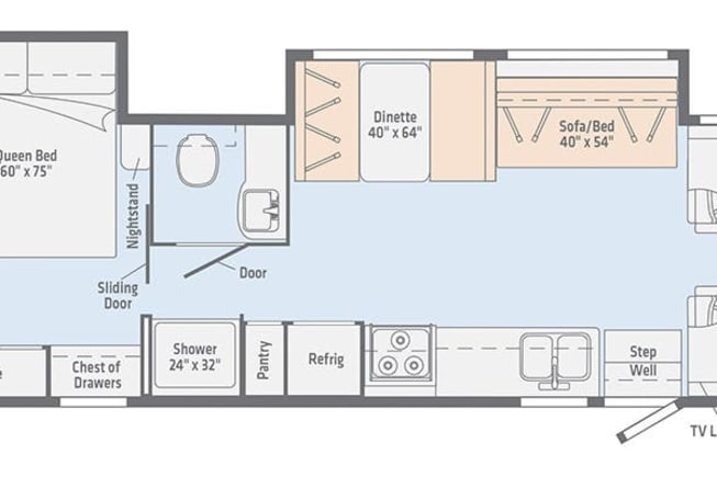 2019 Winnebago OUTLOOK (R-55) available for rent in Baton Rouge LA