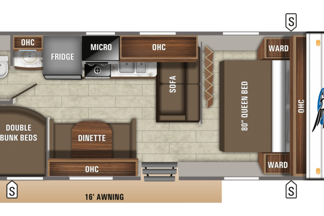 2019 Jayco Jay Flight available for rent in Seaford VA