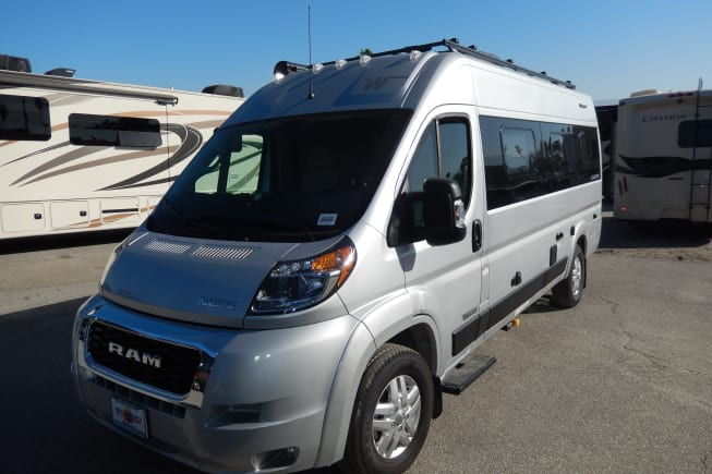 2021 Winnebago Travato available for rent in Palm Springs CA