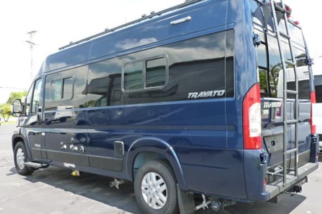 2020 Winnebago Travato available for rent in Asheville NC