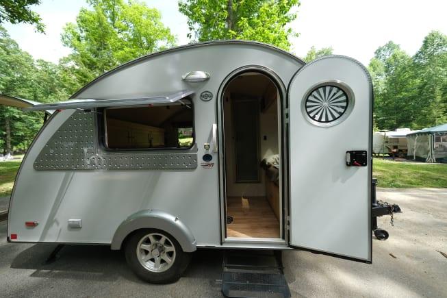 Camper Entrance