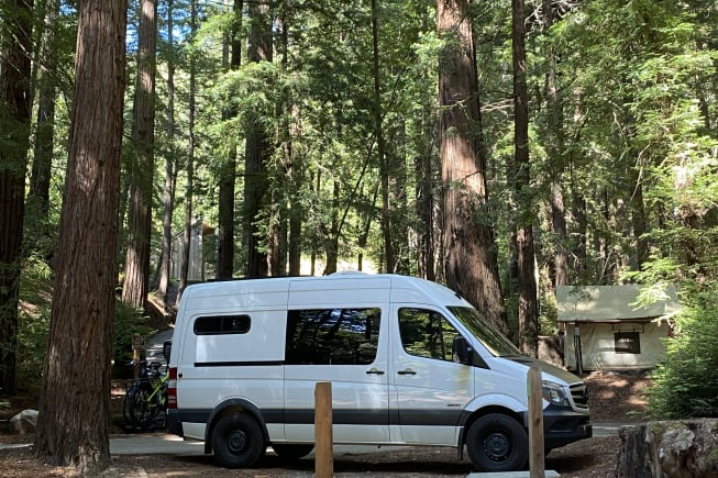 Our Sprinter has allowed us to continue exploring the great outdoors, safely in the context of COVID-19
