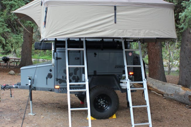 2019 Turtleback Trailers Expedition Offgrid available for rent in Weatherford TX