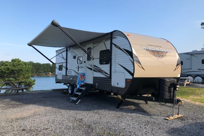 2018 Forest River Wildwood available for rent in Pittsville MD