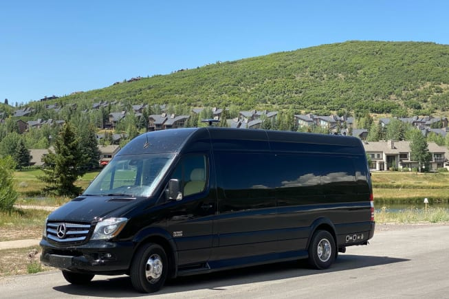 Spacious van is easy to drive while providing lots of extra room and comfort for all passengers