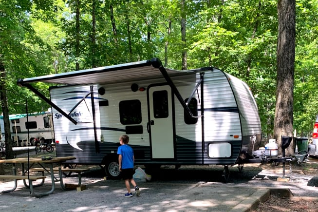 2016 Keystone Springdale available for rent in Rocky face GA