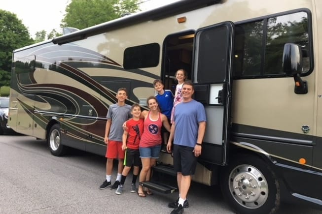 2018 Fleetwood Bounder 36D available for rent in Arrington TN