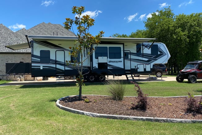 20201 Grand Design Momentum available for rent in Lucas TX