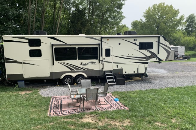 2019 Grand Design Solitude available for rent in Germantown Hills IL