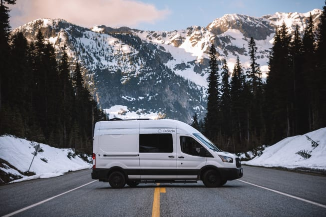 2019 Ford Transit available for rent in Seattle WA