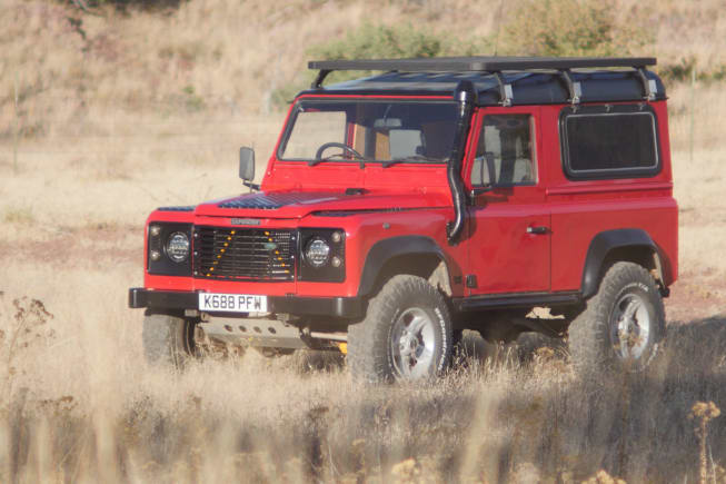 1992 Land Rover Defender 90 available for rent in TUCSON AZ