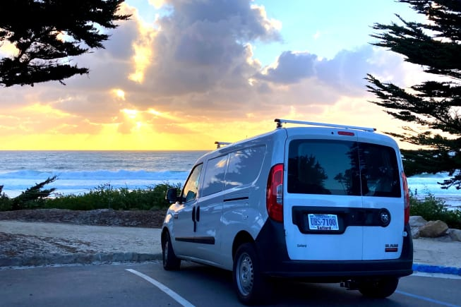 A Pacific Ocean sunset at Carmel-by-the-Sea....  Go anywhere and park in any spot, don't miss a thing.