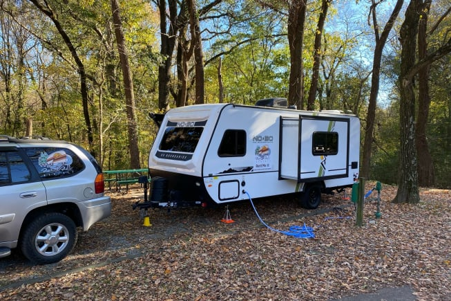 Lucille set up at TO Fuller campground in Memphis