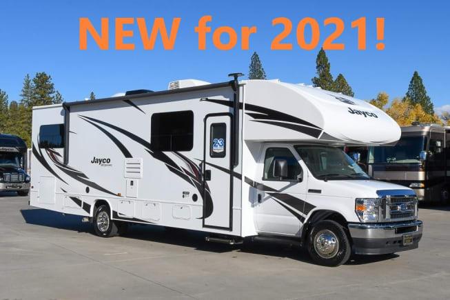 Brand New for 2021!  Jayco Redhawk 31F - new V8 power