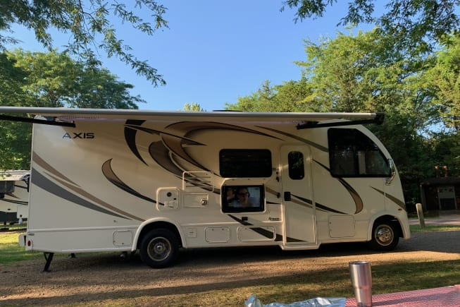 2019 Thor Motor Coach Axis available for rent in Lago Vista TX