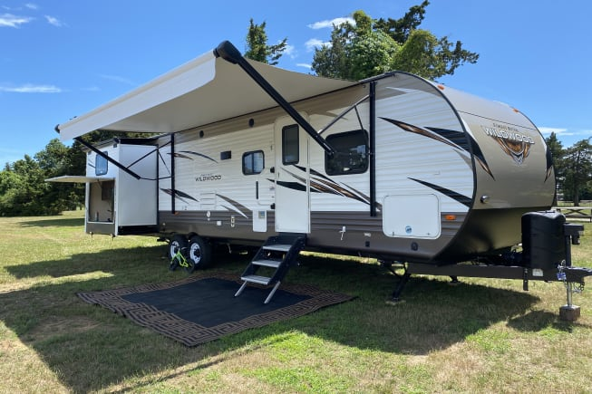 2018 Forest River Wildwood 31 KQBTS available for rent in Somers CT