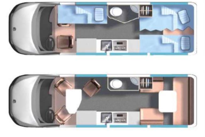 2015 Roadtrek Mercedes Sprinter Adventurous Rs available for rent in Plano TX