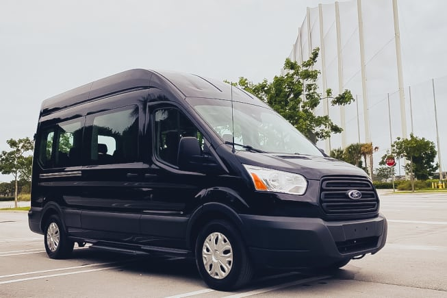 2015 Ford Transit Custom available for rent in Miami FL