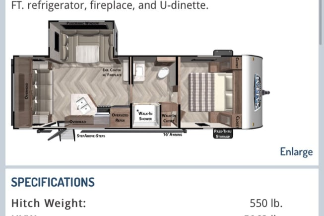 2021 Forest River Wildwood X-Lite available for rent in Annandale MN