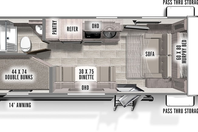 2021 Forest River IBEX 19MBH available for rent in New Kent VA