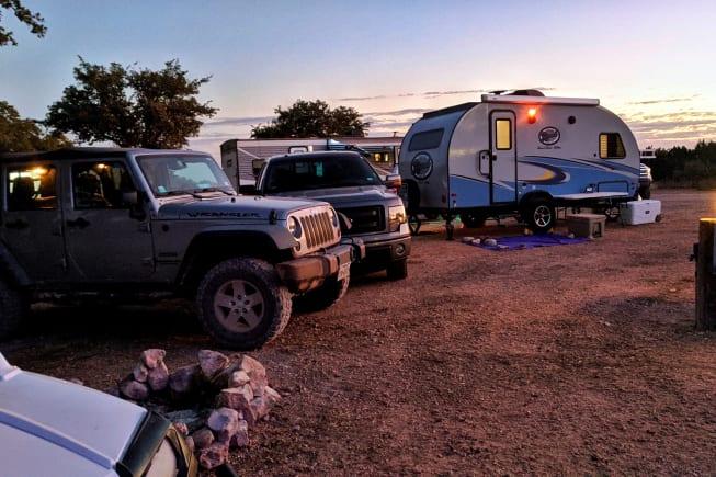 Camping Fun, Sunsets, Campfire, Smores,