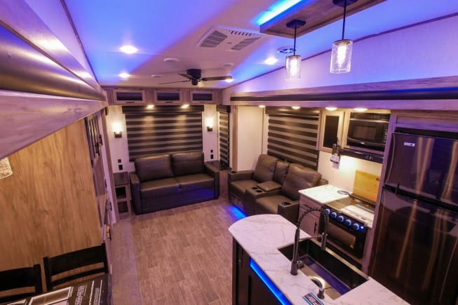 2021 Forest River Arctic Wolf 3660 Suite available for rent in Topeka KS