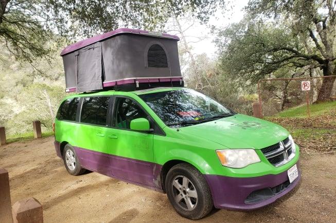 2013 Dodge Caravan available for rent in Pleasanton CA