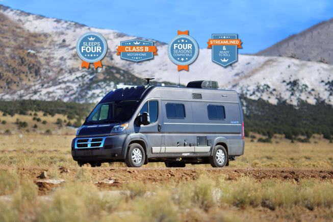 The Winnebago Travato is fully equipped, thoughtfully designed, and ready to provide opportunities for couples, friends, and families.
