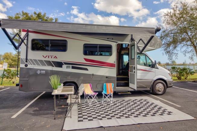 2020 Winnebago Vita 24F available for rent in Deerfield Beach FL