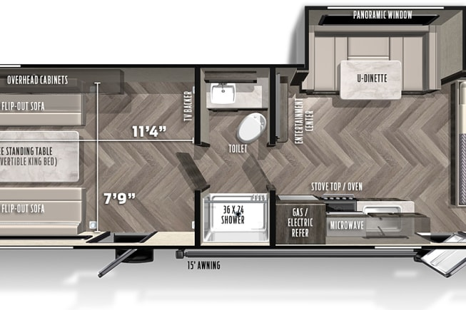 2019 Forest River Ozark available for rent in Cambridge MN