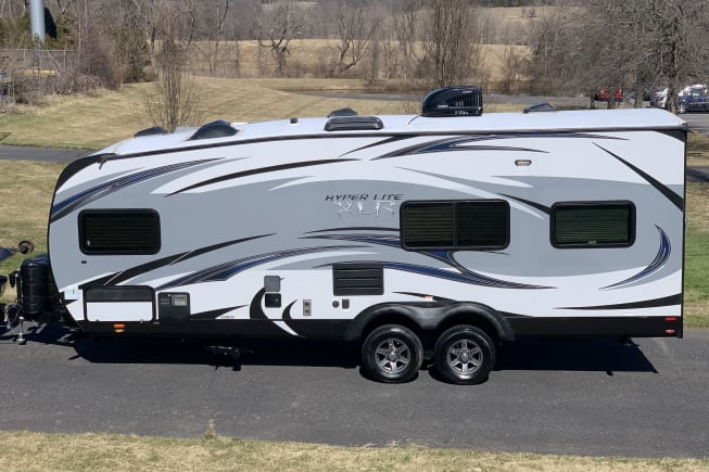 2015 Forest River XLR Hyper Lite 24HFS Toy Hauler Travel Trailer available for rent in Zieglerville PA