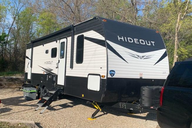 2021 Keystone Hideout available for rent in Ellsworth KS