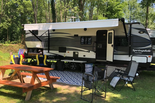 2016 Keystone Springdale available for rent in Schoolcraft MI