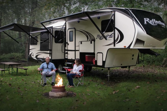 Exterior of the RV.