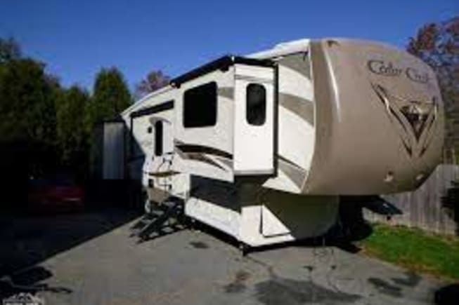 2015 Forest River Cedar Creek Fifth Wheel available for rent in Fort Lupton Colorado CO