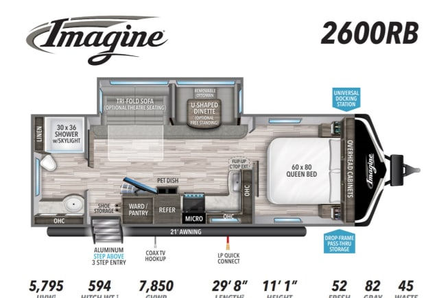 2021 Grand Design Imagine 2600RB available for rent in NORTH CANTON OH