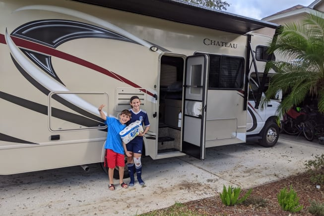 2017 Thor Motor Coach Chateau available for rent in Tampa FL
