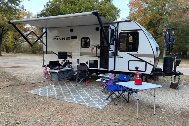 2021 Winnebago Micro Minnie 1800BH available for rent in Flower Mound TX