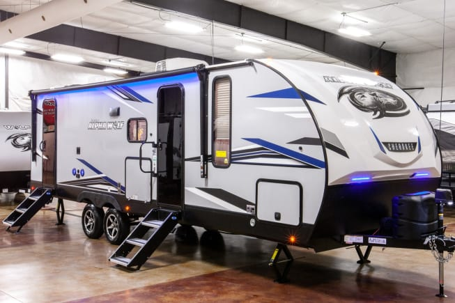 2021 Forest River Alpha Wolf 26DBH-L available for rent in Chantilly VA
