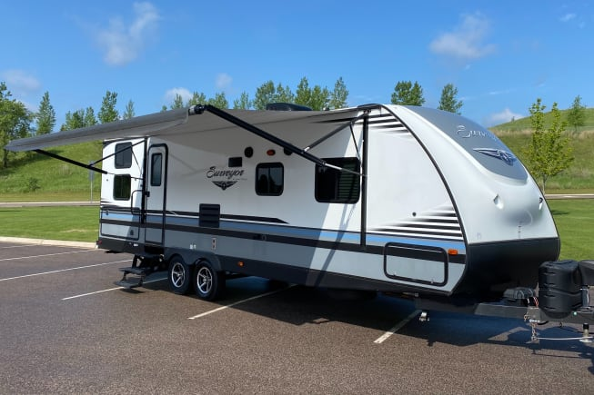 2018 Forest River Surveyor available for rent in Cold Spring MN